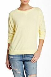 Nation Ltd. Raglan Sweatshirt Yellow