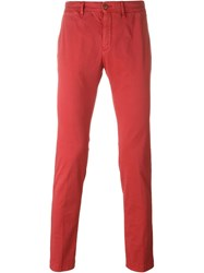 Moncler Classic Chinos Red