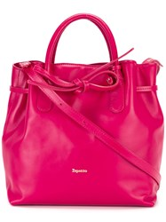 Repetto Drawstring Tote Pink Purple