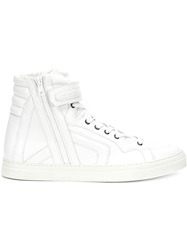 Pierre Hardy '112' Hi Top Sneakers White