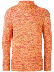 En Route Turtleneck Jumper Yellow Orange