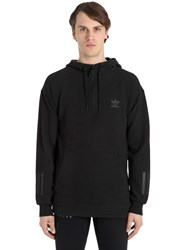 Adidas Tubular Hooded Cotton Sweatshirt