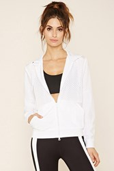 Forever 21 Active Perforated Windbreaker