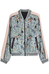Zadig And Voltaire Printed Reversible Bomber