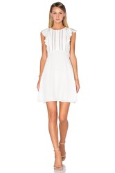 Theory Deorsa Dress Ivory