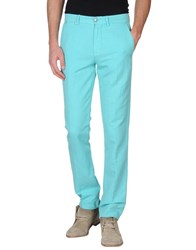 7 For All Mankind Trousers Casual Trousers Men Turquoise