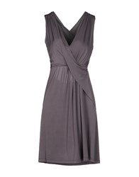 Carlo Pignatelli Short Dresses Dove Grey