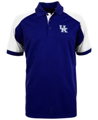 Antigua Men's Kentucky Wildcats Century Polo Shirt Royalblue