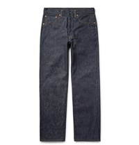 Levi's Vintage Clothing 1955 501 Selvedge Denim Jeans Dark Denim