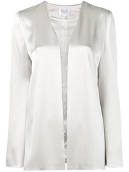 Galvan Satin Evening Jacket Neutrals