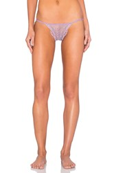 Only Hearts Club Whisper Sweet Nothings Lace Back Bikini Lavender