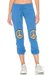 Lauren Moshi Willow Classic Sweatpant Blue