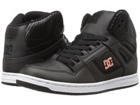 Dc Rebound High Se Black Black Women's Skate Shoes
