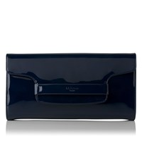 Lk Bennett Laura Clutch Bag Navy