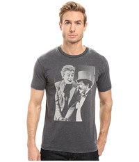 Kinetix Joker And Penguin Charcoal Men's T Shirt Gray