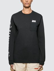 Ripndip Lord Nermal Long Sleeve T Shirt Black
