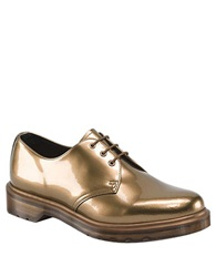 Dr. Martens 1461 Spectra Patent Leather Oxfords Copper