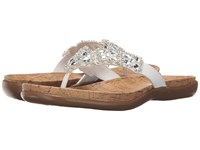 Kenneth Cole Reaction Glam Athon White Women's Sandals