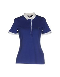 Fay Topwear Polo Shirts Women Blue