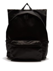 Raf Simons X Eastpak Photographic Print Satin Backpack Black