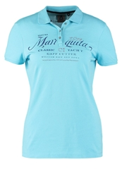 Gaastra Sandy Beach Polo Shirt Azure Blue Turquoise