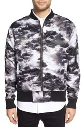 Zanerobe Clouds Bomber Jacket Black