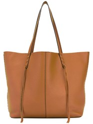 Rebecca Minkoff Medium Unlined Tote Women Leather One Size Brown