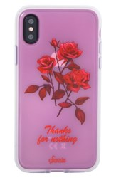 Sonix Thanks For Nothing Iphone X Case Pink Pink Red