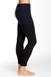 Magid Two Tone Skirt Overlay Legging Blue
