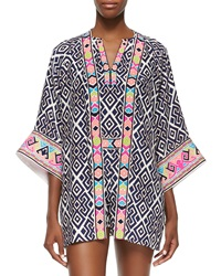 Alice And Trixie Fiona Geometric Print Jacket Small
