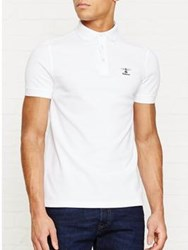 Barbour Heritage Joshua Polo Shirt White