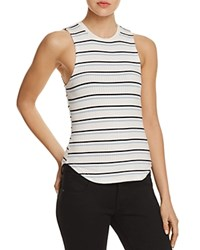 Frame '70S Double Stripe Fitted Tank Off White Multi