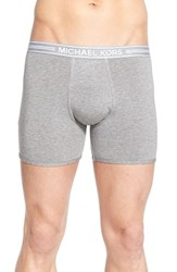 Men's Michael Kors Modal Blend Boxer Briefs Grey Heather