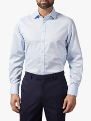 Chester Barrie By Travel Stretch Shirt Blue