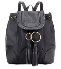 See By Chloe Polly Leather Backpack Black