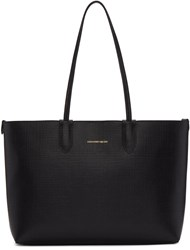Alexander Mcqueen Black Small Shopper Tote