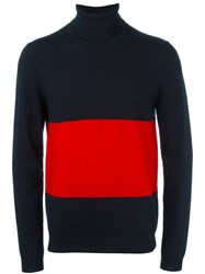 Wood Wood 'Jaques' Pullover Blue
