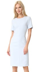 Prabal Gurung Short Sleeve Core Dress Sky