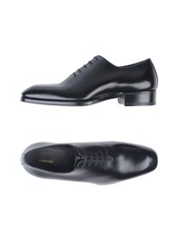 Tom Ford Lace Up Shoes Black