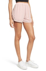 Soprano Women's Studded And Embroidered Shorts