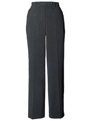 Chesca Zip Pocket Trousers Charcoal