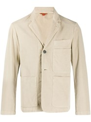 Barena Lightweight Multi Pocket Jacket Neutrals