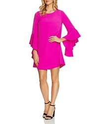 Cynthia Steffe Cece By Ashley Bell Sleeve Dress Fuchsia Pop
