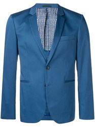 Paul Smith Ps By Tailored Suit Jacket Blue