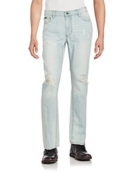 Calvin Klein Jeans Slim Straight Distressed Beyond Blue