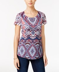 Styleandco. Style Co. Paisley Print Top Only At Macy's Arabian Tale
