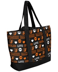Forever Collectibles Baltimore Orioles Tote Bag Black