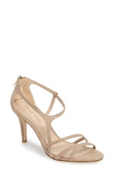 Pelle Moda Women's Ruby Asymmetrical Strappy Sandal Sand Leather