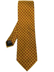 Romeo Gigli Vintage Checked Tie Green