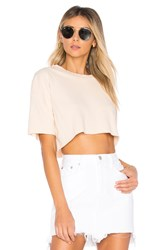 Lovers Friends X Revolve Elora Crop Sweatshirt Beige